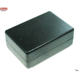 Plastic Enclosure black G026 72 x 50 x 28 mm