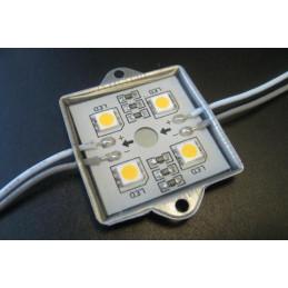 LED Module 4 x 5050 Chip LEDS - Green 12V
