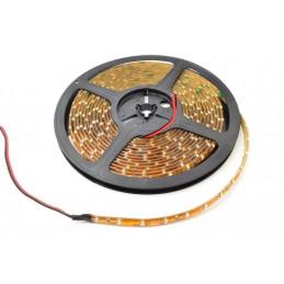 Waterproof LED Light Strip 12V - Amber SMD (IP65) - Per Metre