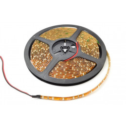 Waterproof LED Light Strip 12V - Amber SMD (IP65) - Per Metre