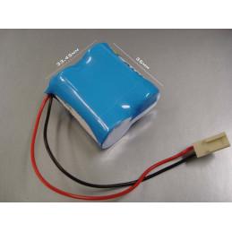 CR123 Pack Lithium 6V