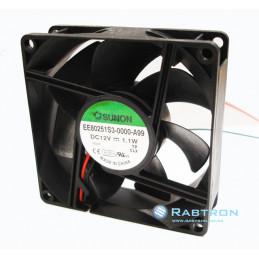 FAN 80x80x25 12VDC 1.1W