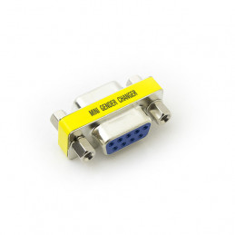 Gender Changer Connector - 9pin female to 9pin female