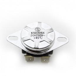 Thermostat KSD306X 140deg 250V 20A 4Pin