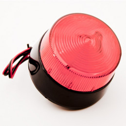 TK-30 Strobe Light Red 6-12VDC