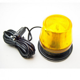 Strobe Light Amber 12VDC 15W Magnetic