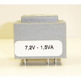 Transformer 7.2VAC 1.5VA INPUT 220VAC