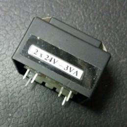 Transformer 2X24V 3VA