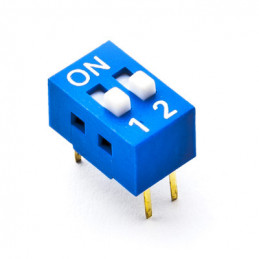 Dip Switch SPST 2 Positions
