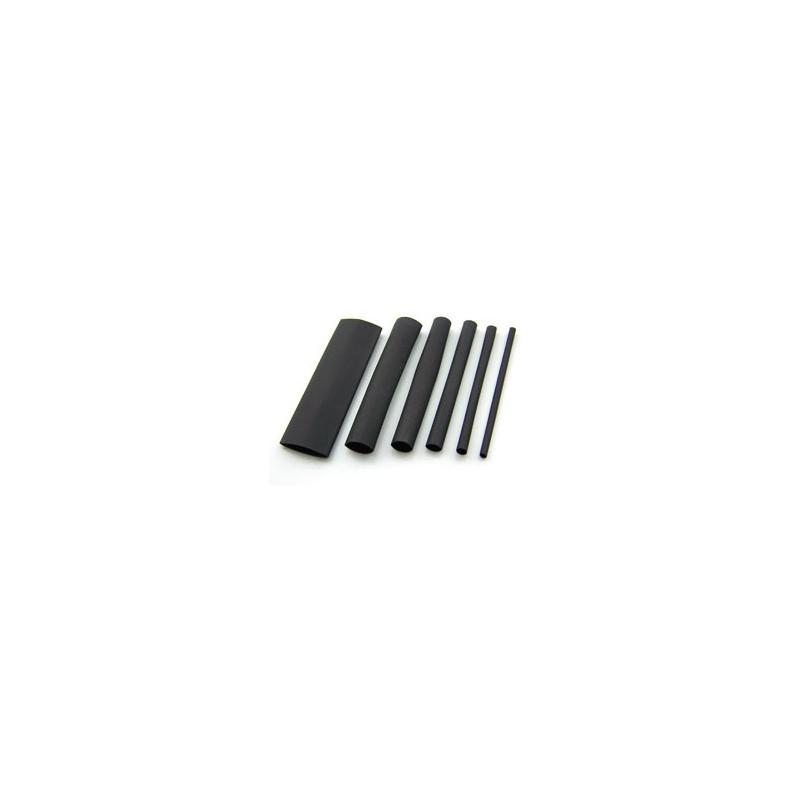 Heat Shrink Tubing 25MM BLACK - Per Metre