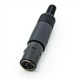 Svideo Plug 6 Pin cable Socket