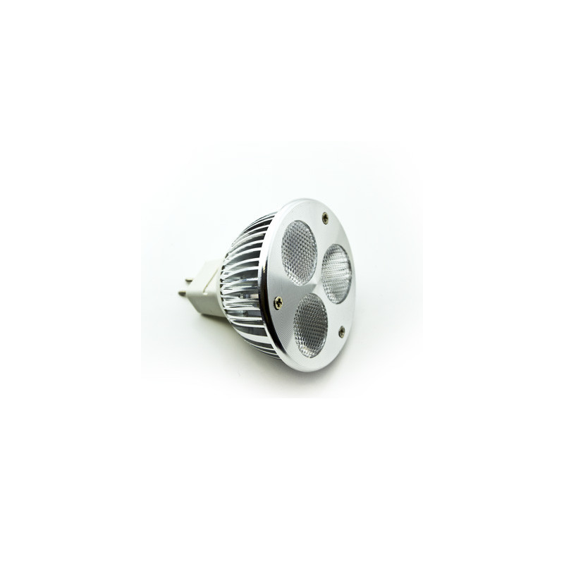 MR16 3W LED Downlight - Red - 12V DC