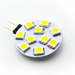 G4 LED Lamp 10 SMD 5050 Warm White 12V