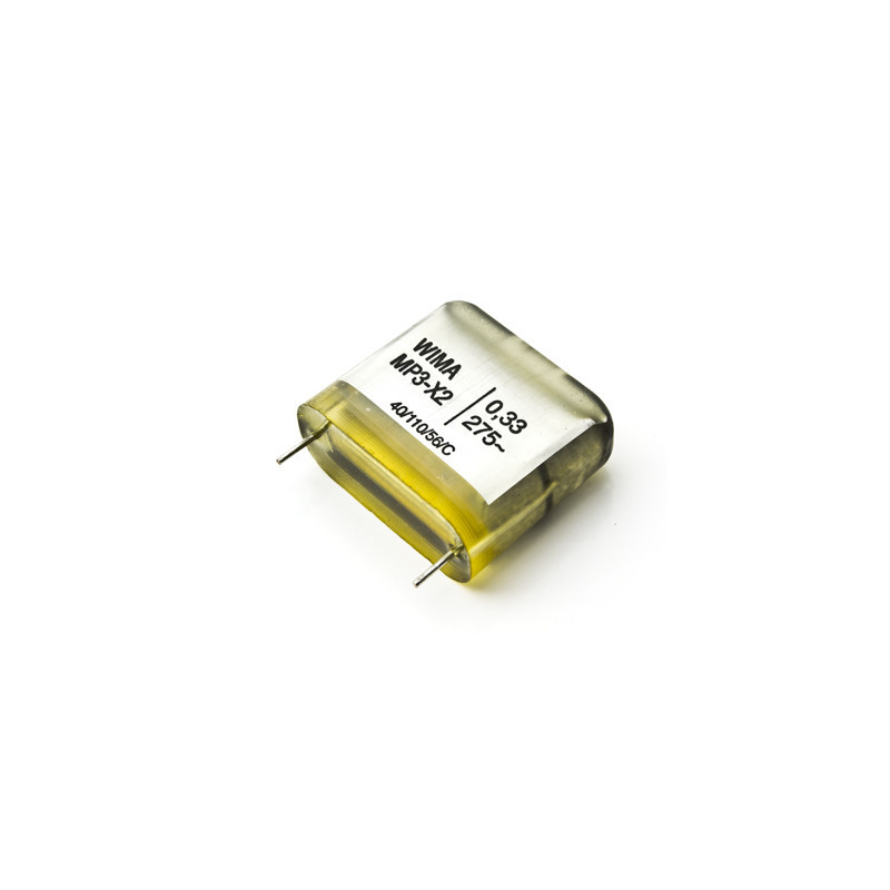 Wima MP3X2 0.33uf 33nf 275VAC 22.5mm pcm