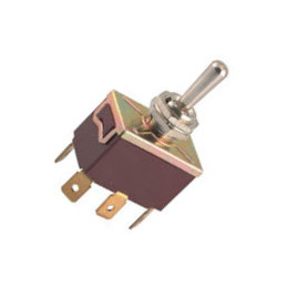 Toggle Switch DPDT (ON) - OFF - (ON) 10A