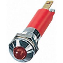 LED Indicator Light 12VDC Red 8mm