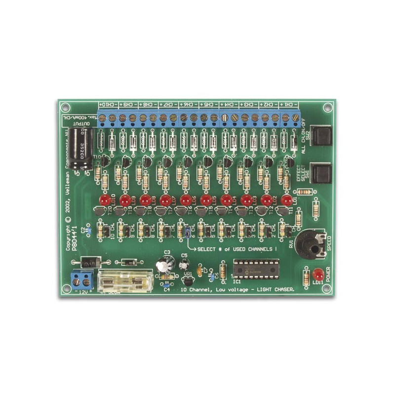 VM120 10-Channel 12vdc light effect generator