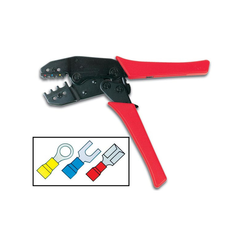 """6"""" Heavy duty Crimping Tool - Fast on Lugs"""
