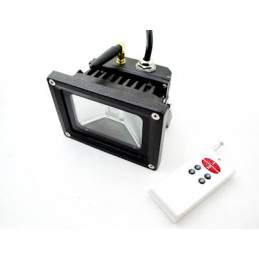 LED Floodlight 10W RGB- 24VDC with Remote
