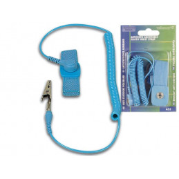 Antistatic Elastic wrist strap - Blue