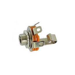 Jack Socket 6.3mm Mono unswitched