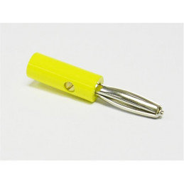 RA12 Banana Plug yellow