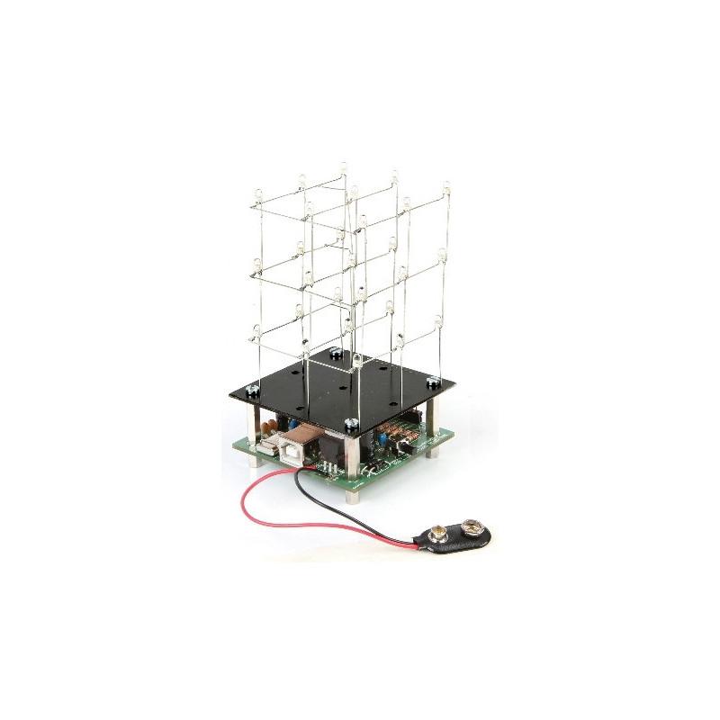 MK193 3D LED Cube 3 x 3 x 3