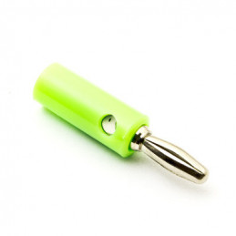 JX4008 Banana Plug Green Nickel