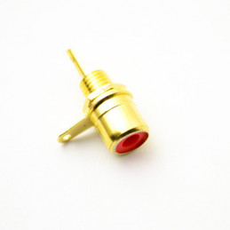 RCA Socket Gold Red