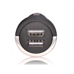 Dual usb charger / adapter (5v - 2.1a, 10.5w)