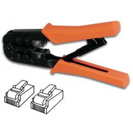 Crimping tool for connector 6p6c, 6p4c, 8p8c (rj12, rj45)