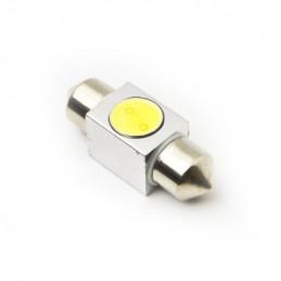 Festoon LED Bulb 12V 1 LED 0.5W White 37mm