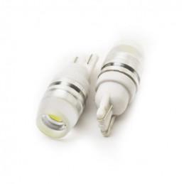 T10 Automotive Car LED Bulb 1W White 12x28