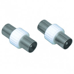 Adaptor TV Plug male to male