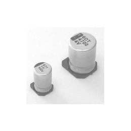 Electrolytic Cap 100MFD 63V SMD VCHIP