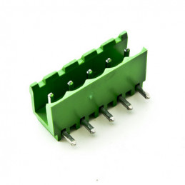 PH-05 Male Connector Horizontal - 5 Poles