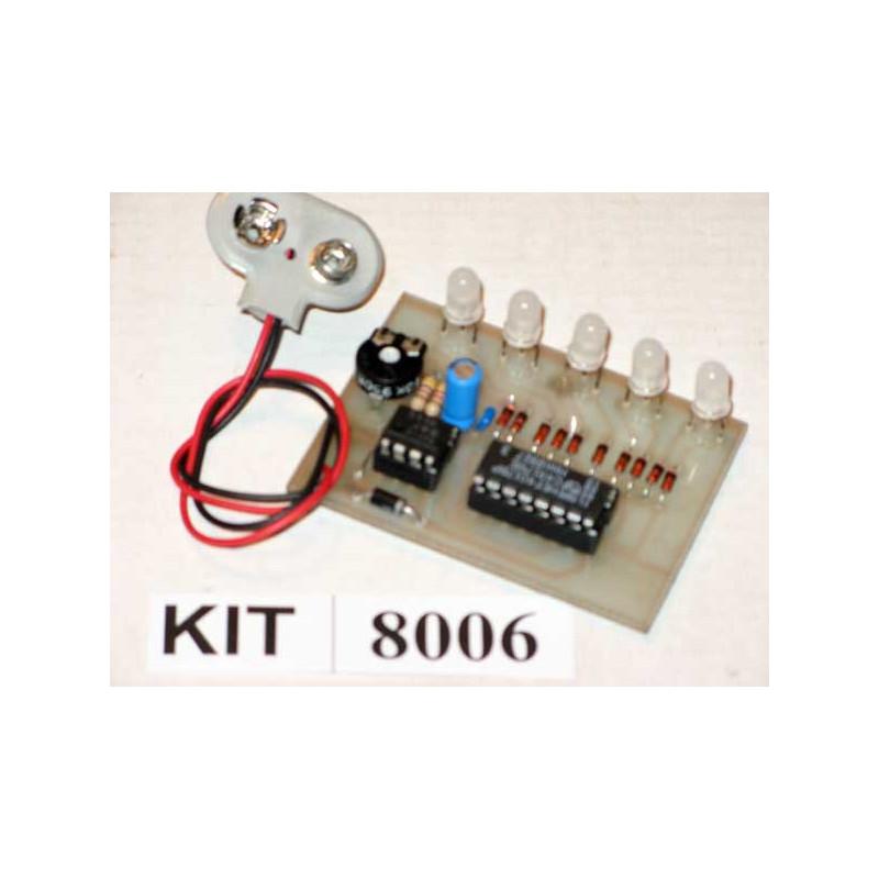 BI-Coloured Running LED's 8006