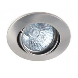 Downlight Fitting Satin Nickel Tiltable