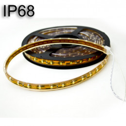 Submersible Waterproof LED Light Strip 12V 3528 Warm White (IP68