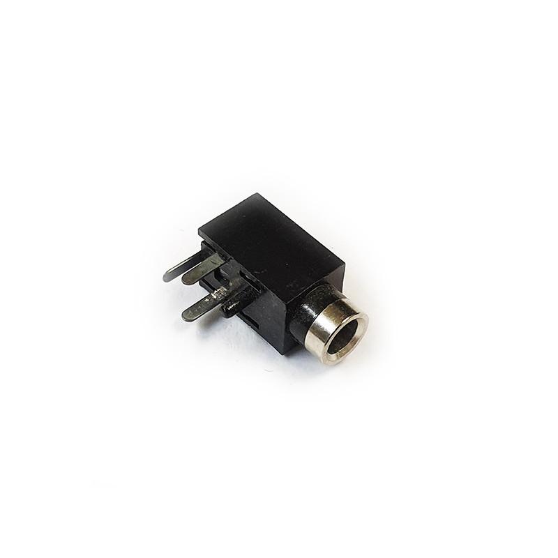 Jack Socket 2.5mm Mono PCB R/angle