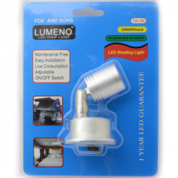 Lumeno LED Reading Light 1W 12VDC