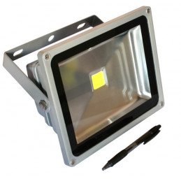 LED Floodlight 30W Blue - 220VAC