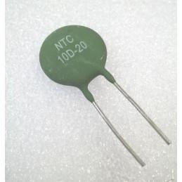 NTC Thermistor - 10 ohm 6A 21mm