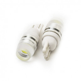 T10 Automotive Car LED Bulb 1W Warm White 12x28