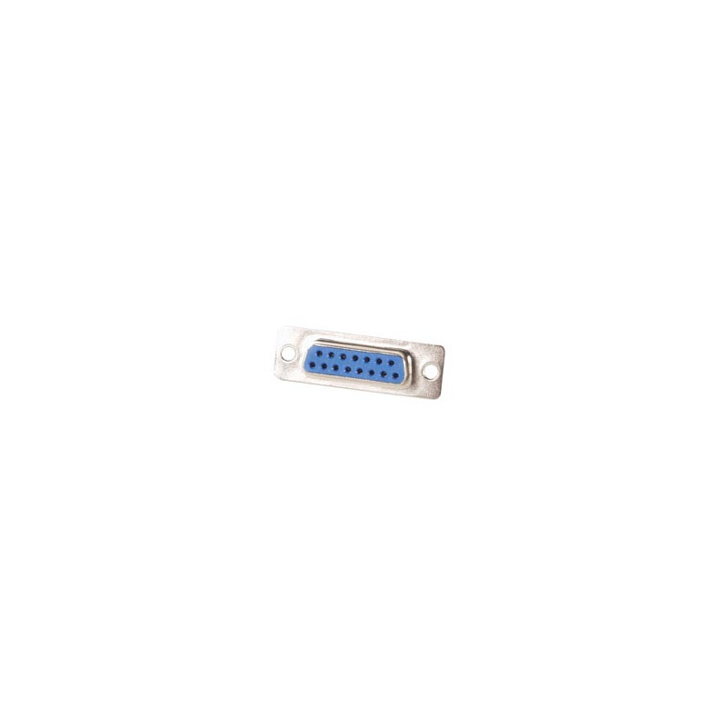 D-SUB 15 Way Female Connector