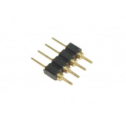 4 Pin Male to Male Connector for Flexible Tri-chip LED Strips