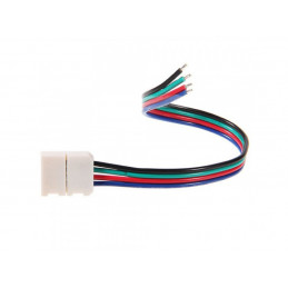 4 Pin 10MM Snap Strip Connector for SMD5050 RGB LED Strips