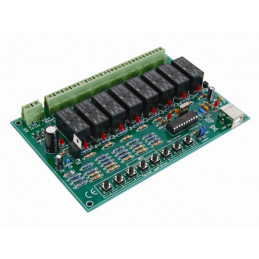 8-Channel usb relay card