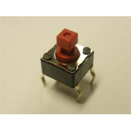 DTS644R Ultra-Miniature Tactile Switch 50mA-12VDC