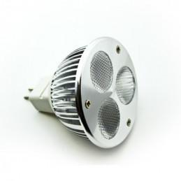 GU10 3W LED Downlight - Blue 220VAC 270LM